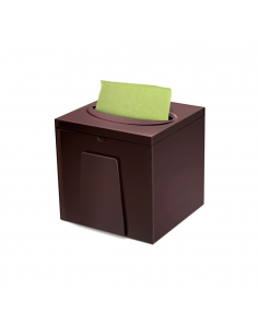 CUBO BAR NAPKINS MARRONE - CARIND